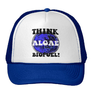 Think algae biofuel trucker hats