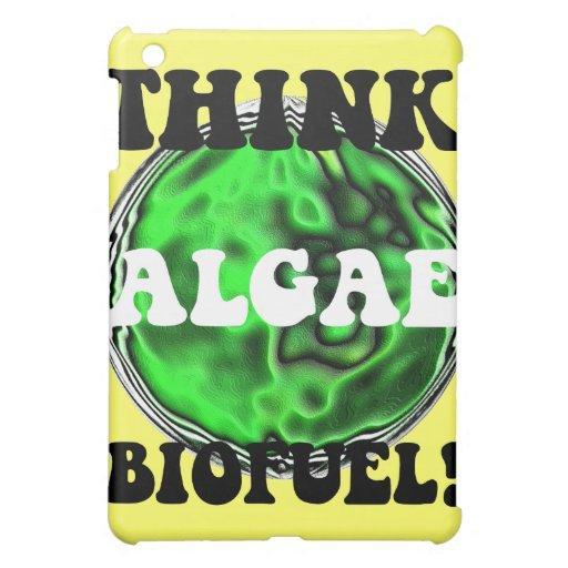 think algae biofuel iPad mini covers