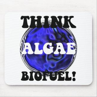 Think algae biofuel mouse pad