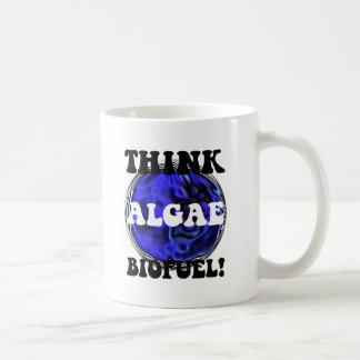 Think algae biofuel coffee mugs