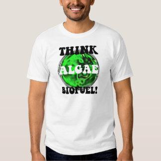 Think algae biofuel! t-shirts