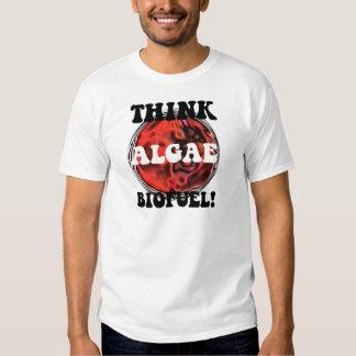 Think algae biofuel t-shirts
