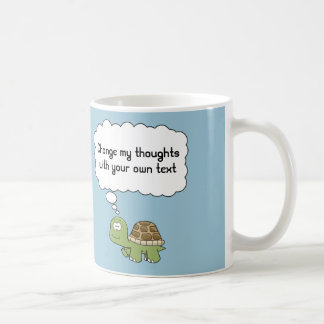 Think anything turtle mug
