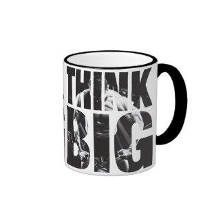 Think Big - Bodybuilding Motivation Ringer Mug