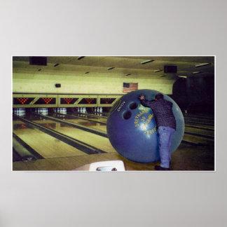 Think Big....Bowling Poster