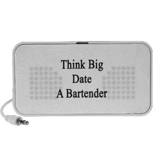 Think Big Date A Bartender Portable Speakers