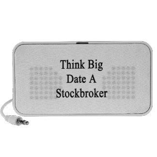 Think Big Date A Stockbroker PC Speakers