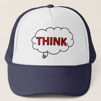 """Think"" cap logo"
