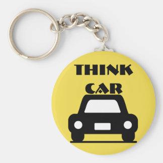 Think Car Funky Keychain