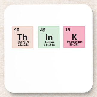 Think - Chemistry Coaster