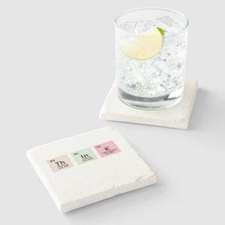 Think - Chemistry Stone Coaster