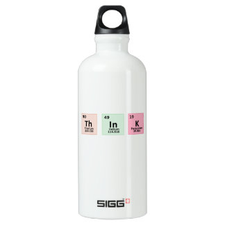 Think - Chemistry Water Bottle