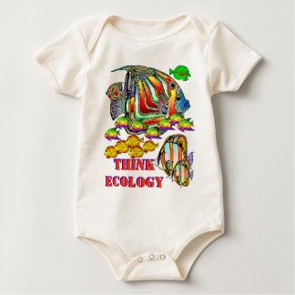 THINK ECOLOGY Infant Romp Romper