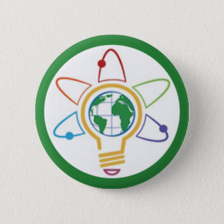 Think Global 6 Cm Round Badge