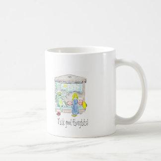 Think good thoughts! coffee mug
