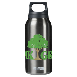 Think Green 16 oz. 0.3L Insulated SIGG Thermos Water Bottle