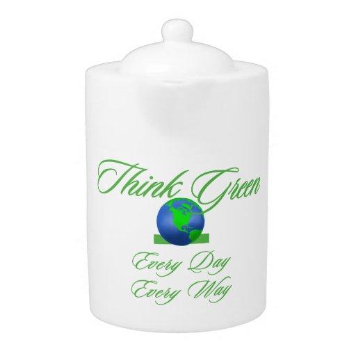 Think Green 2 Medium Teapot
