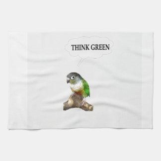 Think Green 2 Tea Towel