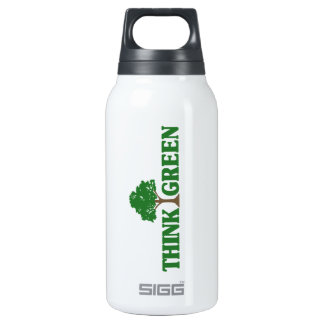 Think Green 32 oz. 0.3L Insulated SIGG Thermos Water Bottle