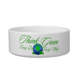 Think Green 3 Cat Bowl