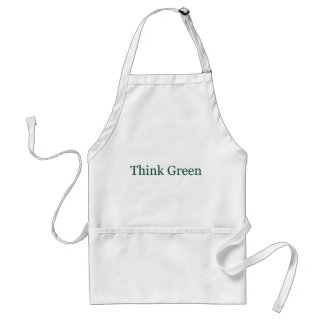Think Green Adult Apron