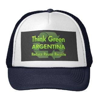 Think Green Argentina Trucker Hat