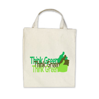Think Green bag - choose style & color