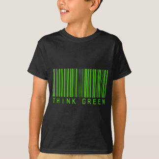 Think Green Barcode T-Shirt