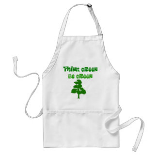 Think Green Be Green Apron