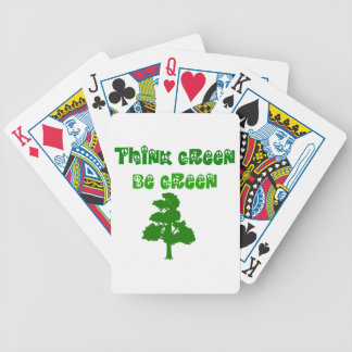 Think Green Be Green Card Deck