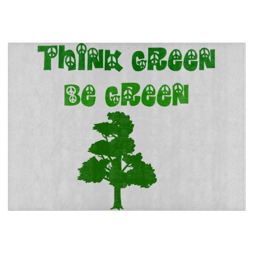 Think Green Be Green Cutting Boards