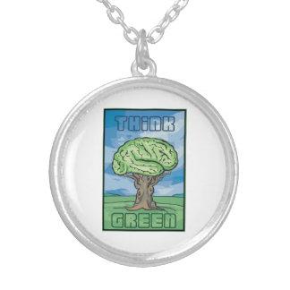 Think Green Brain Pendants