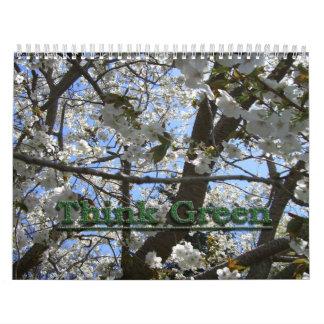 Think Green Calendar