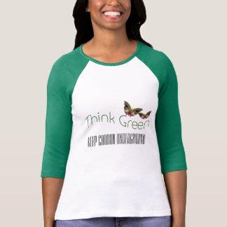 Think Green, Carbon Underground customize t-shirt