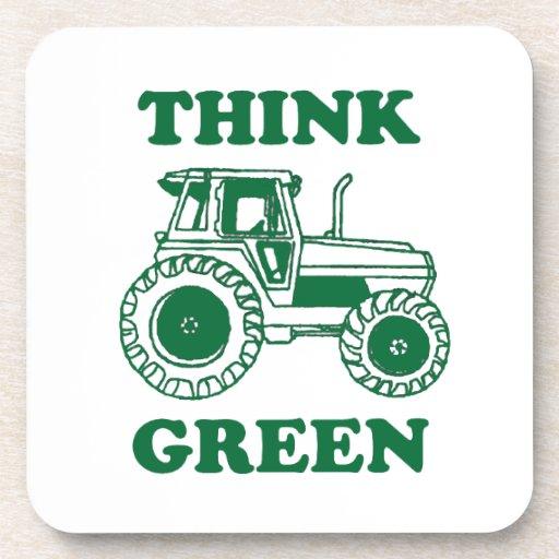 Think Green Beverage Coaster