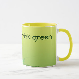 THINK GREEN cup
