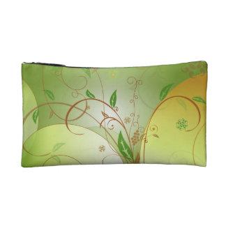 """Think Green"" Custom Small Cosmetic/Travel Bag"