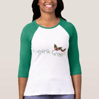 Think Green, customizable t-shirt