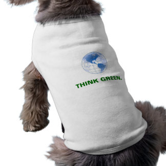 Think Green Doggie Shirt