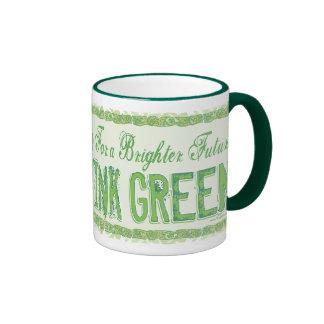 Think Green Earth Day Gear Coffee Mug