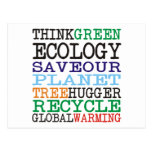 Think Green Ecology Products & Designs! Post Cards