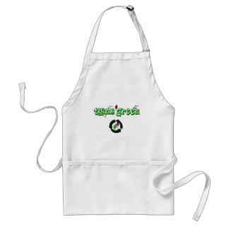 THINK GREEN EVERYDAY! ADULT APRON