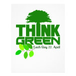Think Green flyer