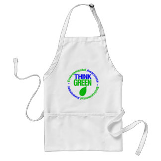THINK GREEN for the Environment Apron