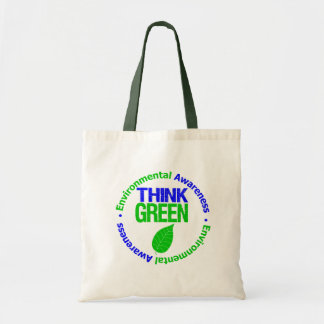 THINK GREEN for the Environment Bags