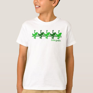 Think Green Frogs T-Shirt