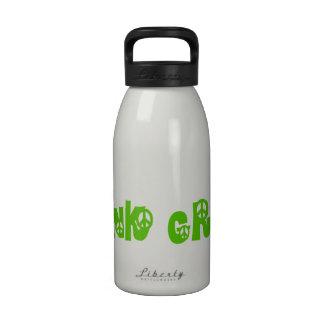 Think Green Globe Drinking Bottle