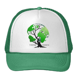 Think Green Hats