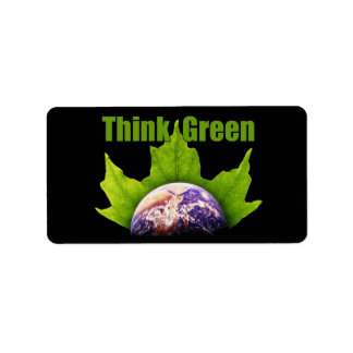 Think Green Labels