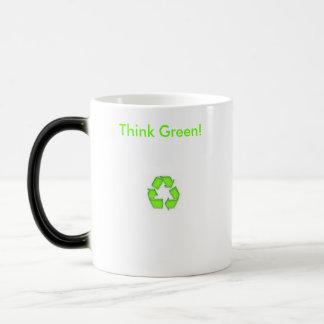 Think Green! Morphing Mug
